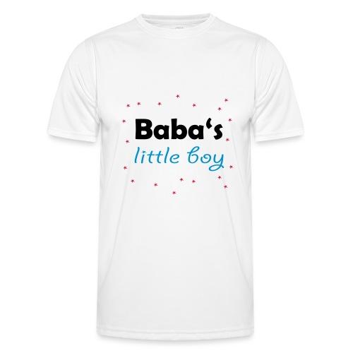 Baba's litte boy Babybody - Männer Funktions-T-Shirt