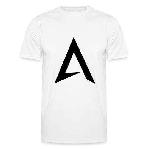 alpharock A logo - Men's Functional T-Shirt