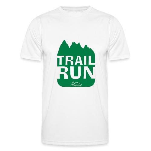 Trail Run - Männer Funktions-T-Shirt