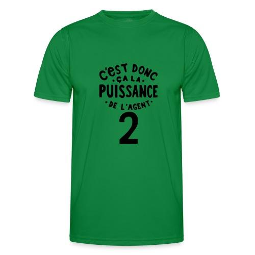 La puissance de l'agent 2 - T-shirt sport Homme