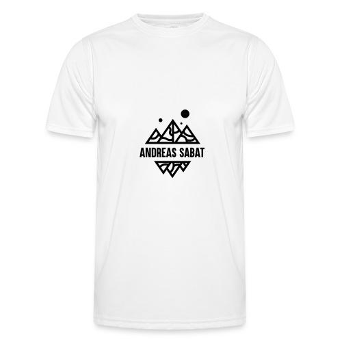 sabat logo black - Funktionsshirt til herrer