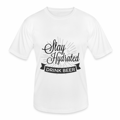 Stay Hydrated - Men's Functional T-Shirt