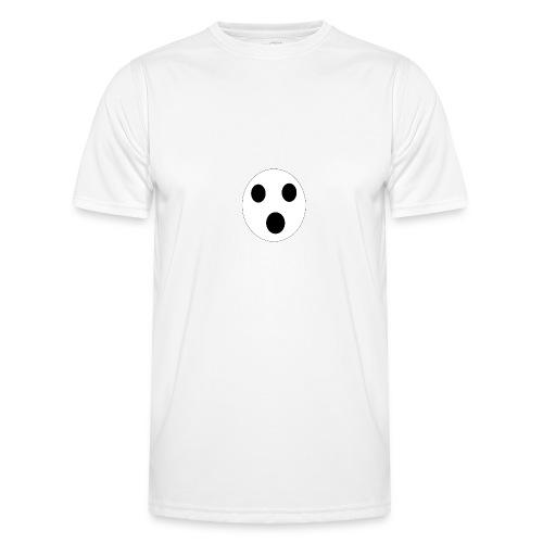 Sort Uni T-shirt - Funktionsshirt til herrer