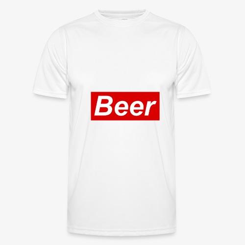 Beer. Red limited edition - Functioneel T-shirt voor mannen