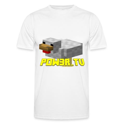 POW3R-IMMAGINE - Maglietta sportiva per uomo