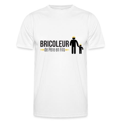 BRICOLEUR DE PERE EN FILS - T-shirt sport Homme