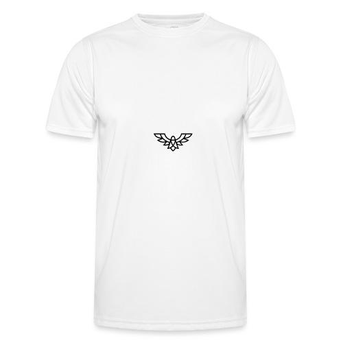 Clean Plain Logo - Men's Functional T-Shirt