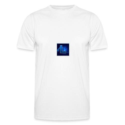 Logo GamenMetLucas - Functioneel T-shirt voor mannen
