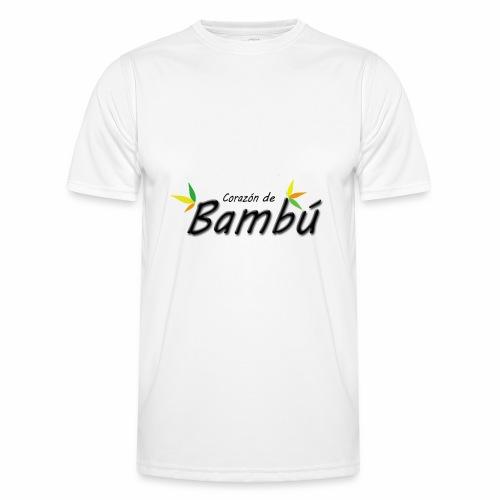 Corazón de bambú - Camiseta funcional para hombres