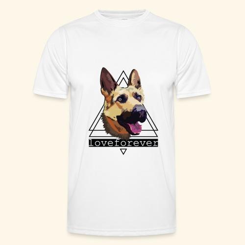 SHEPHERD LOVE FOREVER - Camiseta funcional para hombres