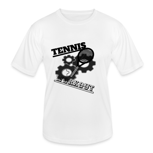 TENNIS WORKOUT - Men's Functional T-Shirt