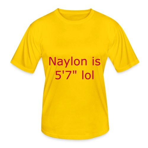 Naylon is 5'7 lol - Men's Functional T-Shirt