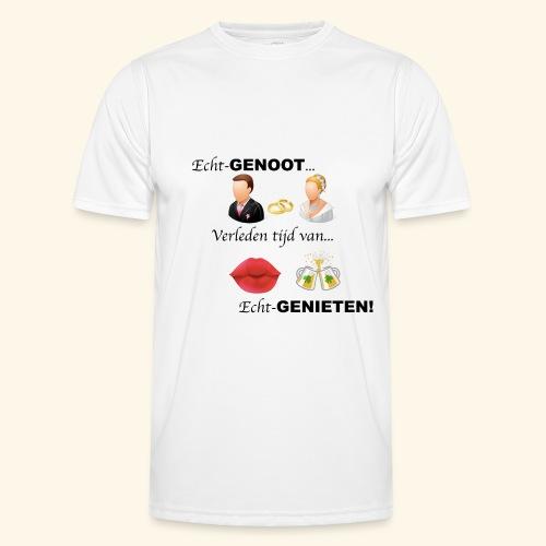 Echt-genoot, verleden tijd van ECHT-GENIETEN - Functioneel T-shirt voor mannen