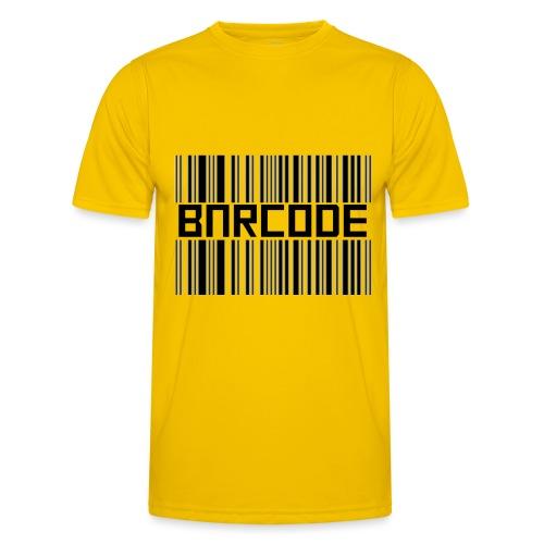 BARCODE WHITE - Men's Functional T-Shirt