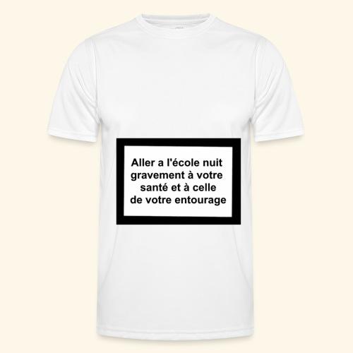 L'école tue - T-shirt sport Homme