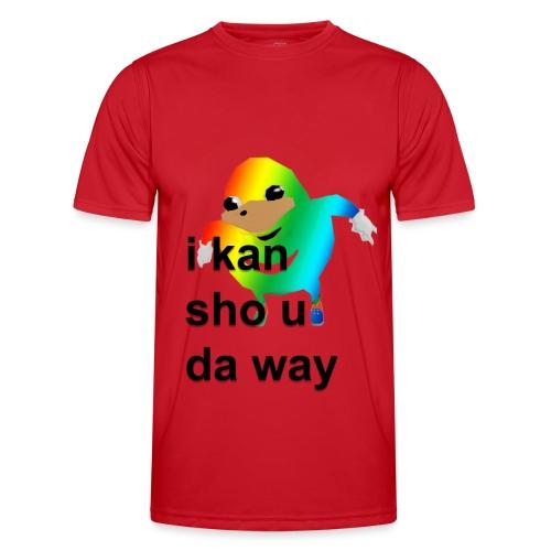 uganda - Miesten tekninen t-paita