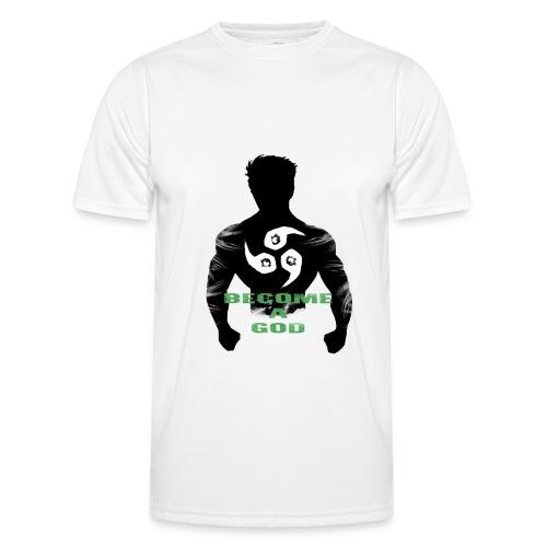 Raijin Become_A_God - Männer Funktions-T-Shirt