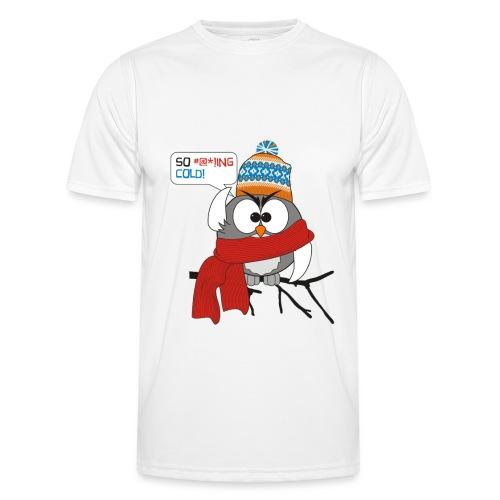 Cold bird - Miesten tekninen t-paita