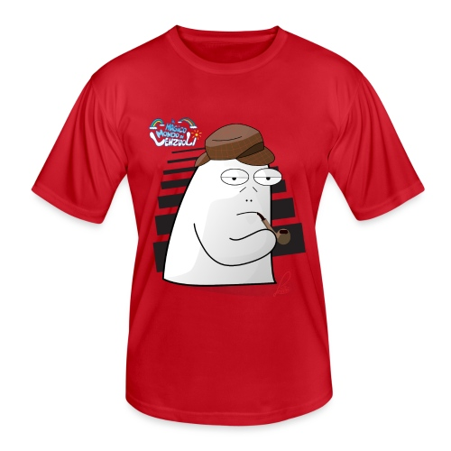 Commissario Color - Maglietta sportiva per uomo