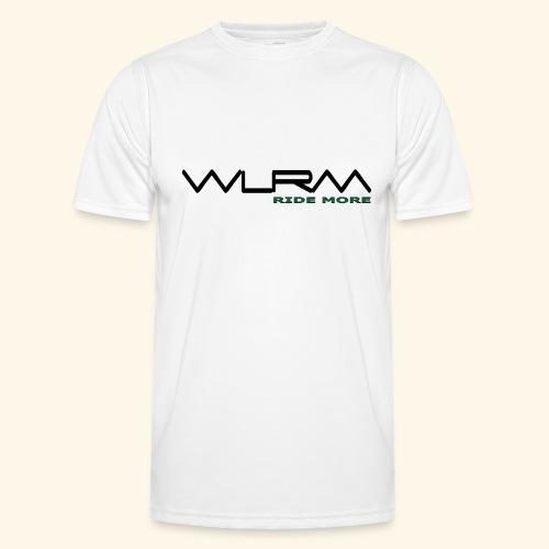 WLRM Schriftzug black png - Männer Funktions-T-Shirt