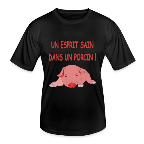 Porcitive Attitude - T-shirt sport Homme