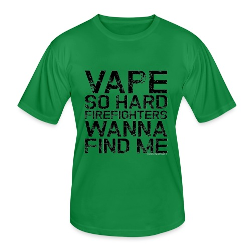 Vape so hard - Men's Functional T-Shirt