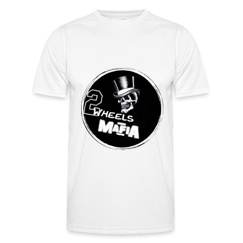 2WheelsMafia - Männer Funktions-T-Shirt