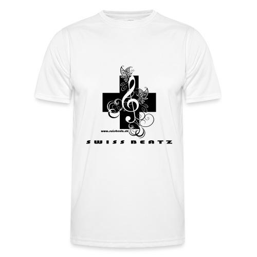 Swiss Beatz Logo with L - Männer Funktions-T-Shirt