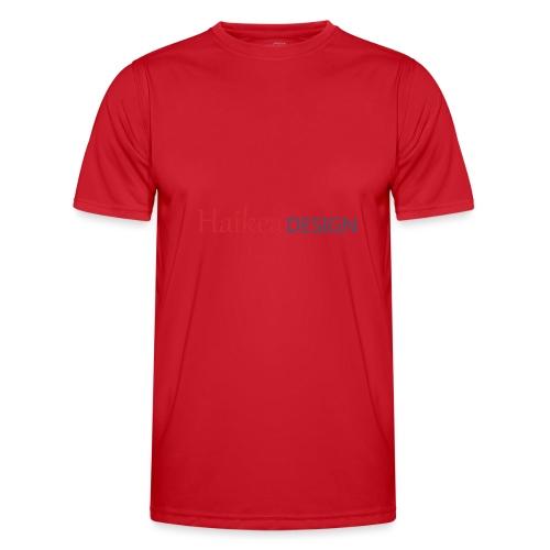 haikea logo - Miesten tekninen t-paita
