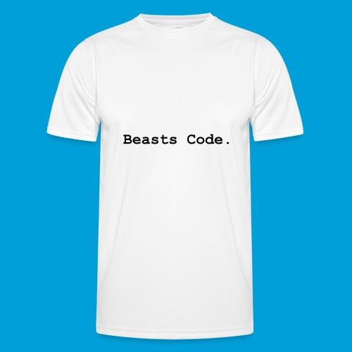 Beasts Code. - Men's Functional T-Shirt