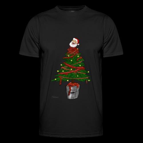 Messy Christmas - Functioneel T-shirt voor mannen
