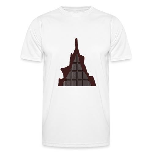 Vraiment, tablette de chocolat ! - T-shirt sport Homme
