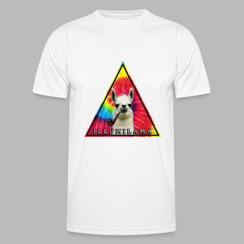 Illumilama logo T-shirt - Men's Functional T-Shirt