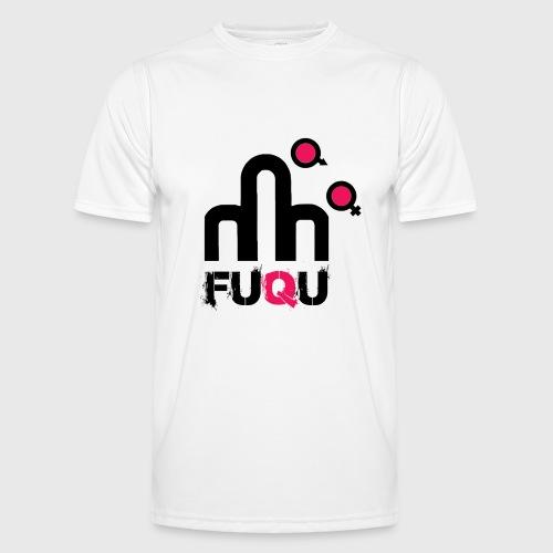T-shirt FUQU logo colore nero - Maglietta sportiva per uomo