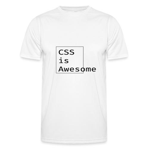 cssawesome - black - Functioneel T-shirt voor mannen