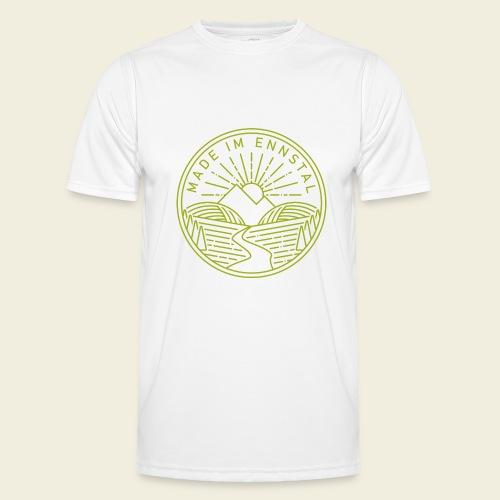 Made im Ennstal, grün - Männer Funktions-T-Shirt