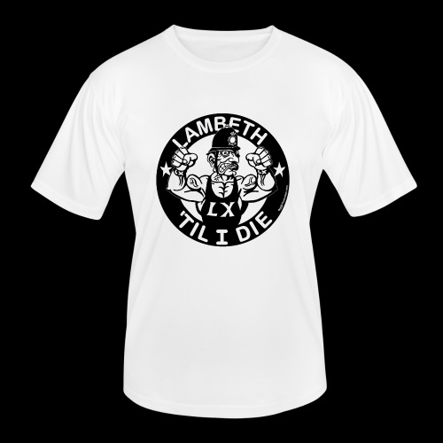 LAMBETH - BLACK - Men's Functional T-Shirt