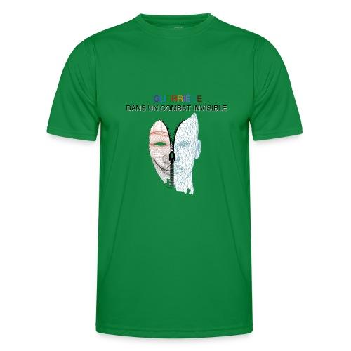 Guerrière dans un combat invisible 02 - T-shirt sport Homme