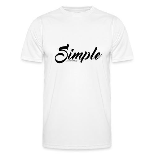 Simple: Clothing Design - Men's Functional T-Shirt