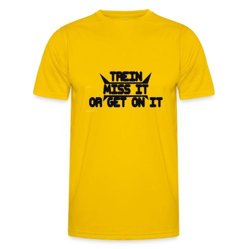 MISS-HIT - Miesten tekninen t-paita