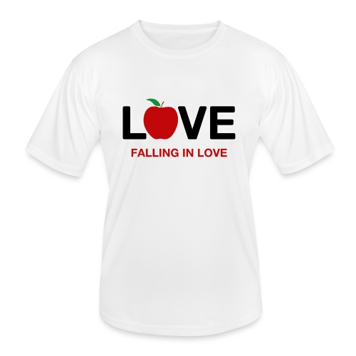 Falling in Love - Black - Men's Functional T-Shirt