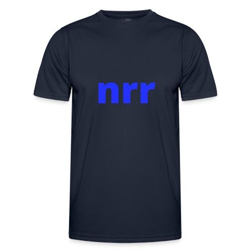 NEARER logo - Men's Functional T-Shirt