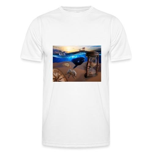 Wodne Przemyślenia - Funkcjonalna koszulka męska