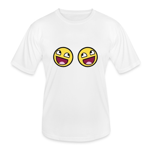 Boxers lolface 300 fixed gif - Men's Functional T-Shirt