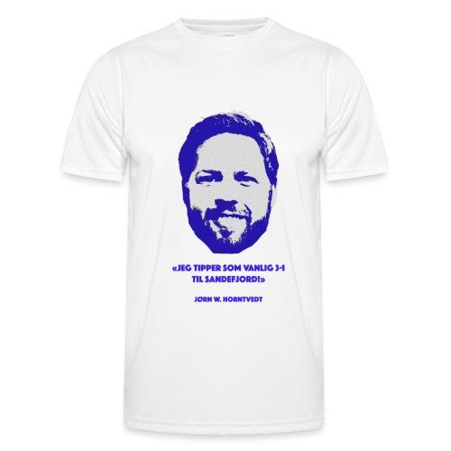 Horntvedt - Funksjons-T-skjorte for menn