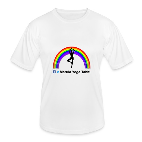 Logo de Maruia Yoga Tahiti - T-shirt sport Homme