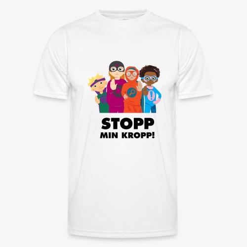 Stopp min kropp! - Funktions-T-shirt herr