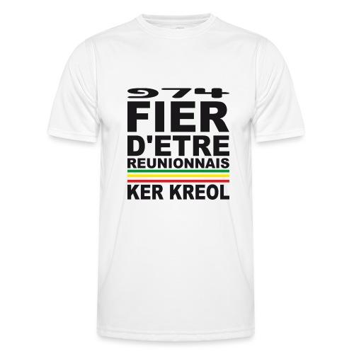 974 ker kreol fier et culture - T-shirt sport Homme
