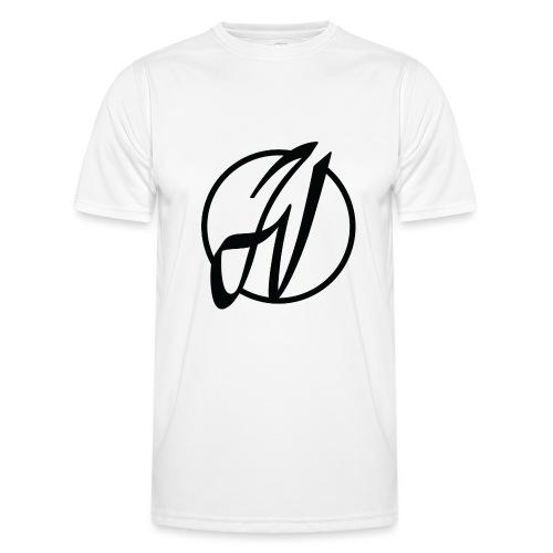 JV Guitars - logo noir - T-shirt sport Homme