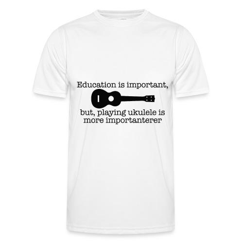 Important Ukulele - Men's Functional T-Shirt